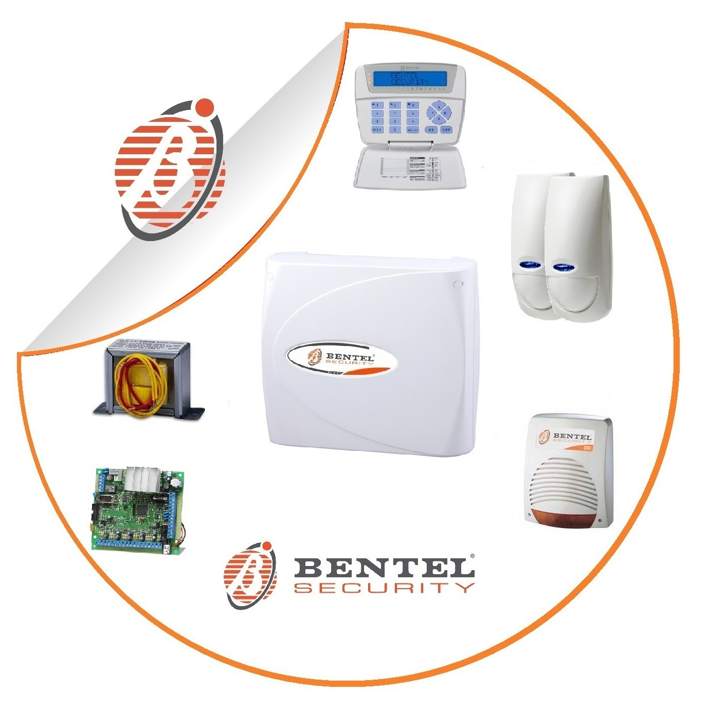 kit centrale kyo8 bentel security pnp antifurti