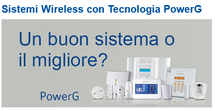 sistemi wireless power g